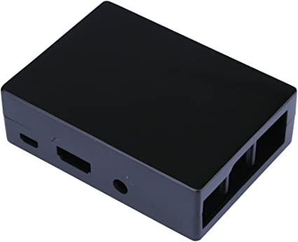 Frambuesa Pi 3 Modelo B Plus Caja de aluminio Caja negra ...