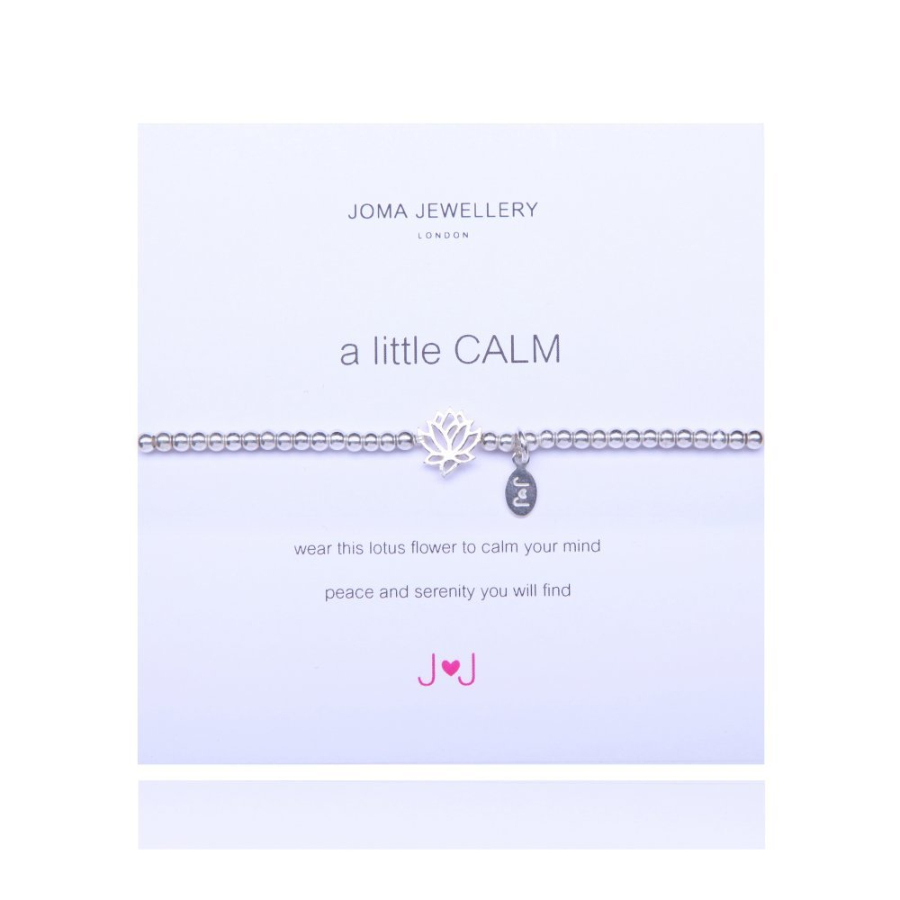A Little Calm Silver Bracelet By Joma Jewellery 330