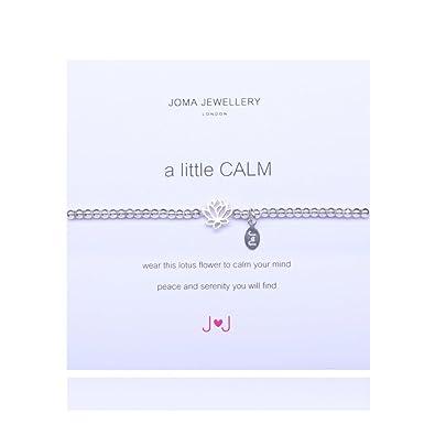 348b506e1e A Little Calm Silver Bracelet By Joma Jewellery: Joma: Amazon.co.uk:  Jewellery