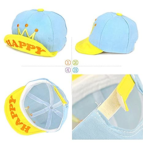 Marca west Unisex Baby Kid Child Toddler Boy Girl Safari Baseball Sun  Protection Beanie Peaked Cap Hat  Amazon.in  Clothing   Accessories 65cd52f32056