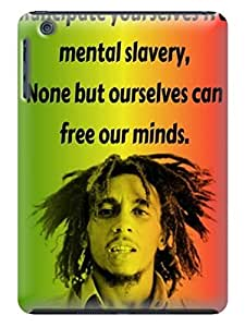 Cool Series lovely photo fashionable Cool Bob Marley designed TPU Phone Case Cover Skins for ipad mini