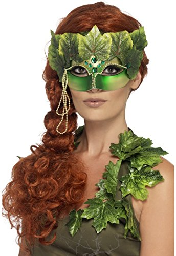 Women Adults Fancy Jungle Masquerade Party Forest Nymph Face Eyemask Pack Of 3]()