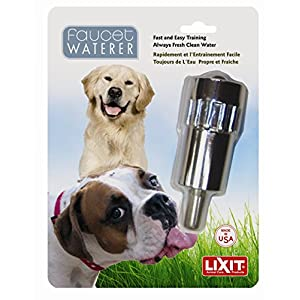 Lixit Pet Dog Waterer Faucet Outdoor Water Fountain Thirst Quencher MADE in USA 88