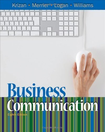 Business Communication by Krizan, A.C.