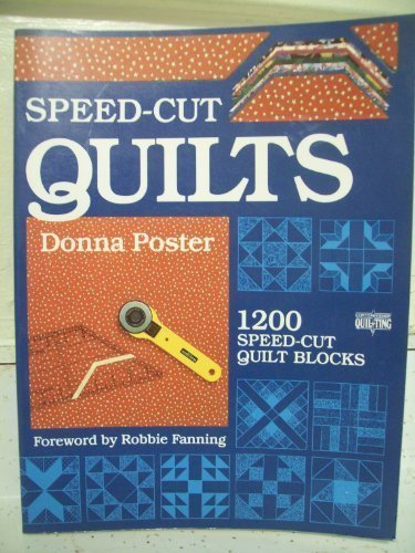Speed-Cut Quilts (Creative Machine Arts (Free Poster Templates)