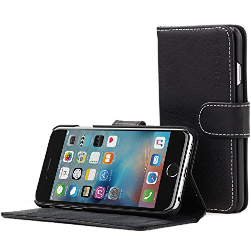 iPhone Snugg Blackest Leather Executive