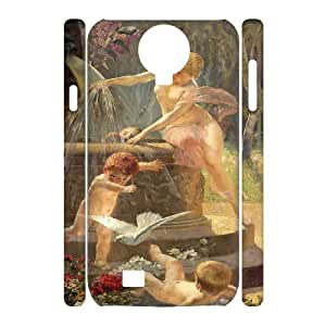 C-QUE Cell phone Cases Cupid Cherub Hard 3D Case For Samsung Galaxy S4 i9500