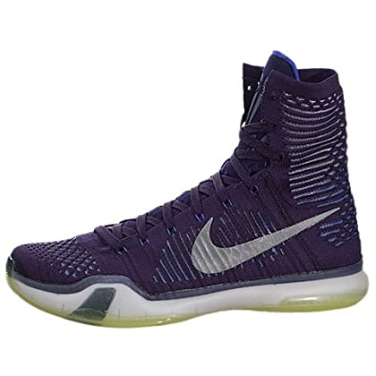 87fadfb1854f Nike Kobe X Elite Mens Basketball Shoes 718763-505 Ink Persian Violet-Volt-Reflect  Silver 8 M US