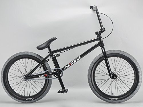 Mafiabikes Kush 2+ 20 inch BMX Bike BLACK