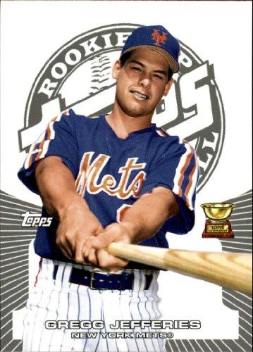 2005 Topps Rookie Cup Baseball Rookie Card #69 Gregg Jefferies Near Mint/Mint