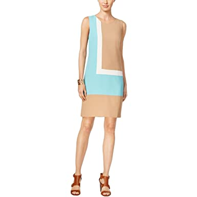 0c4da748b4ca Image Unavailable. Image not available for. Color  Tommy Hilfiger Women s  Colorblocked Shift Dress ...