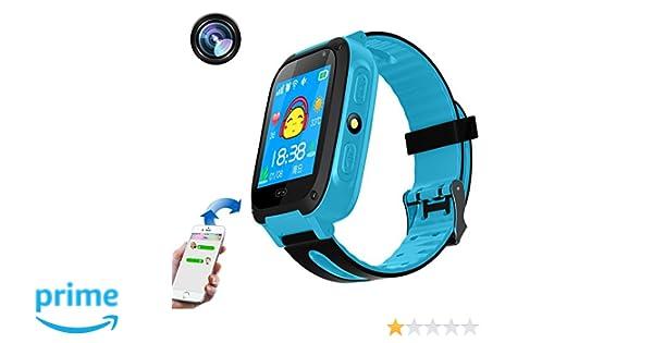 Reloj inteligente para niños, Smartwatch, teléfono con ...