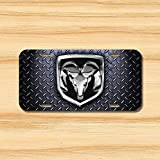 Ram License Plate Vehicle Auto Vehicle Tag Diamond 1500 2500 3500 Big Horn New Novelty Accessories License Plate Art