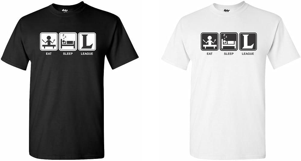 Gardenia12 Eat Sleep League T-Shirt