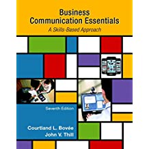 Amazon john v thill books business communication essentials student value edition 7th edition fandeluxe Gallery