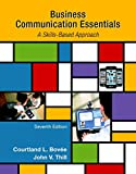 Book Cover for Business Communication Essentials (7th Edition)