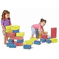 Edushape 709084 bloques corrugados (juego de 84)