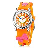 Fashion Brand Quartz Wrist Watch Baby Children Girls Boys Watch Little Red Cap Pattern Waterproof Watches