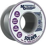 "MG Chemicals 63/37 Rosin Core Leaded Solder, 0.062"" Diameter, 1/2 lbs Spool"