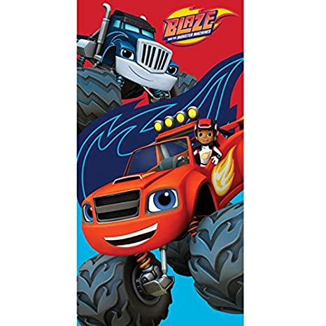Blaze y los Monster Machines - Toalla de playa (algodón, Blaze y los Monster Machines: Amazon.es: Hogar