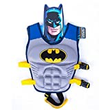 Children Float Swimming Aid Life Jacket Batman Learn-to-Swim Buoyancy Aid Vest (Batman)
