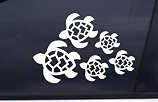 product image for Keen Turtle Family Decal, Turtles Swimming Decal   Car, Truck, Wall, Laptop, Phone...  7 X 4.8 In   KCD221