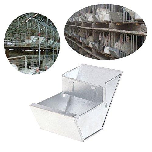 Clapier à lapin Abreuvoir Mangeoire Abreuvoir agriculture Outil équipement de bol de nourriture pour animaux DAEDALUS