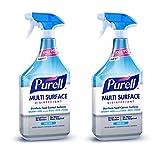 PURELL Multi Surface Disinfectant Spray – Fresh Fragrance, 28 oz. Spray Bottle (Pack of 2) - 2845-02-EC