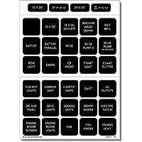 Blue Sea 4216 Square Format Label Set - 60