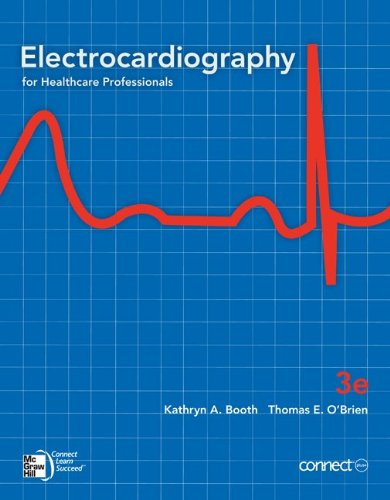 Electrocardiography For Healthcare Professionals, 3rd Edition (Book & CD-Rom)
