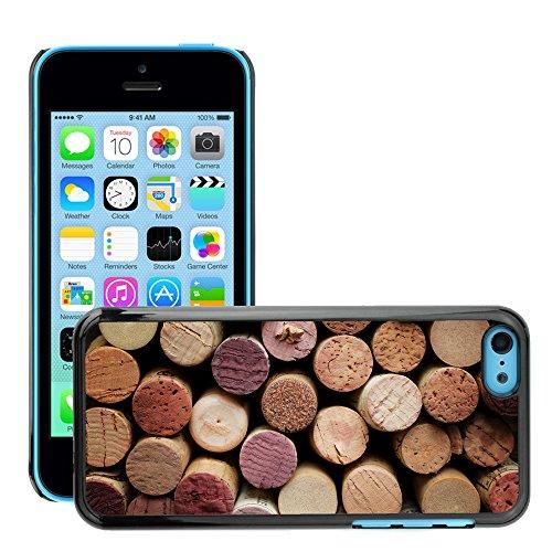 Premio Sottile Slim Cassa Custodia Case Cover Shell // V00001995 vin de Cork // Apple iPhone 5C
