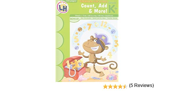Count, Add & More!: Grade K+: Learning Horizons: Amazon.com: Books