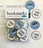 MOTIVATIONAL QUOTE BOOKMARKS SET OF 30 - Motivational and Inspirational Bookmarks for teen girls boys students. Perfect for Gifts - School Student Incentives – Reading incentives - Motivational Gifts