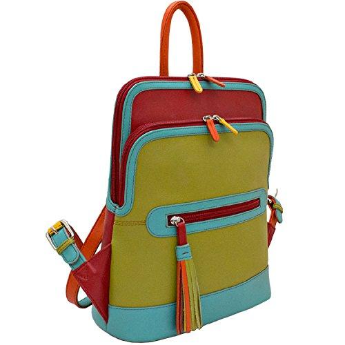 Leather Handbag Citrus 6505 Backpack ili afx0d70