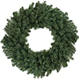 "Darice 24"" Canadian Pine Artificial Christmas Wreath - Unlit"