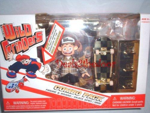 Rob Dyrdek Wild Grinders Jack Knife's File Cabinet Quarter Pipe Gold Combo Pack with DVD (Wild Grinders Jack Knife)
