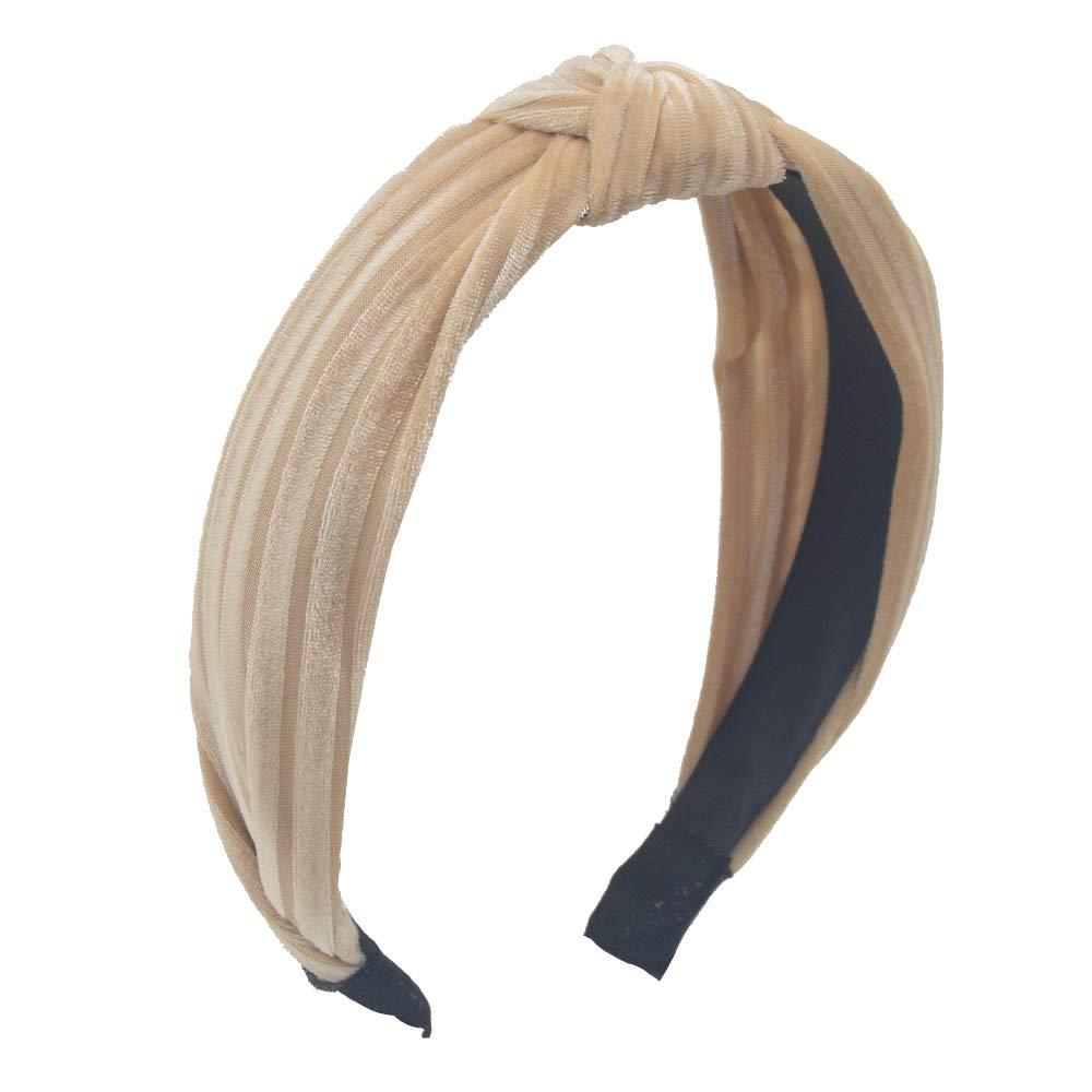 the LINDEE style hair scarf blue white stripes hair accessories bandana scrunchie clips barrettes scarves headband boho minimalist