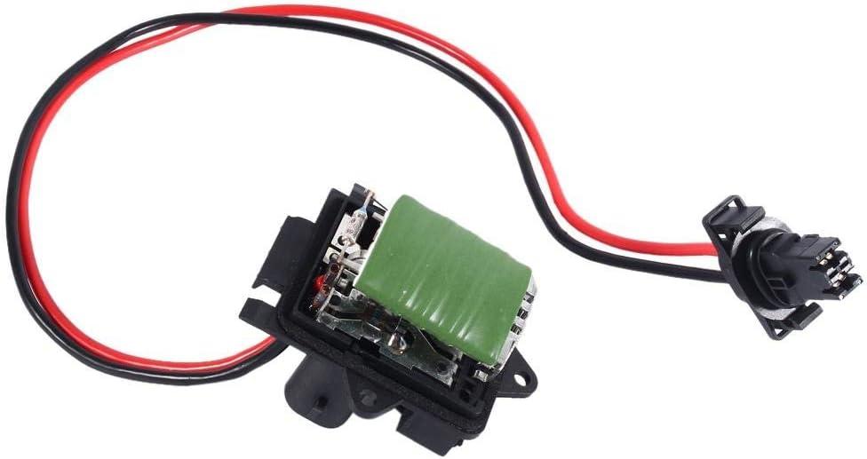 Resistencia del motor del ventilador - 1 PC de resistencia del motor del ventilador del calentador para Renault Trafic Vauxhall Vivaro 7701050325.