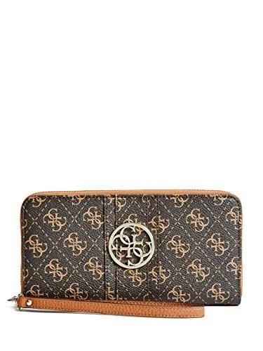 GUESS Quattro Zip Around Wristlet Wallet