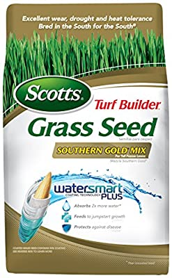 Scotts 19007 Turf Builder Southern Gold Mix Grass Seed (4 Pack), 7 lb