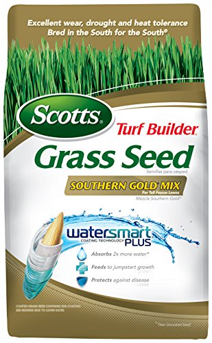 (Scotts 19007 Turf Builder Southern Gold Mix Grass Seed (4 Pack), 7 lb)