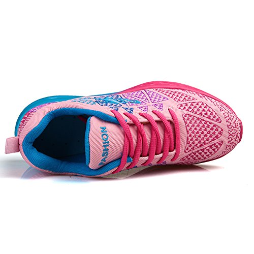 Gym Running amp;LV Pink Workout Air Women Men Fitness Sport Jogging Shoes Walking Couple Athletic Sneakers Fashion LIN RBqIawd7Ix