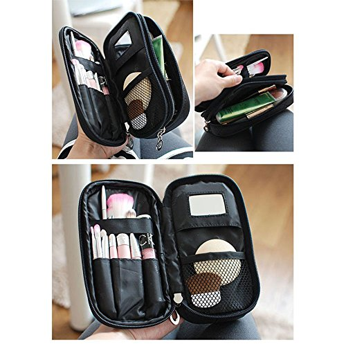 OR Pure Make Up Bag For Women With Mirror Beauty Makeup