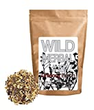 Wild Herbal Tea #19 Chicory Earth Blend by Wild Foods - 8 Ingredient Tea with Sarsaparilla, Chicory, Dandelion root, Carob, Cinnamon, Fennel, Coconut, 100% Natural