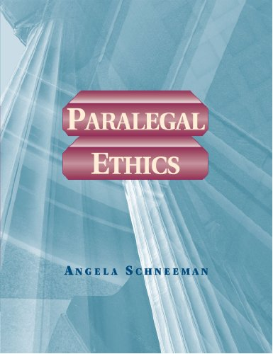 paralegal ethics The american bar association (aba) approved, flexible full-time day or part-time  evening paralegal programs provide students with the education to pursue their.
