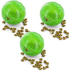 Petsafe SlimCat Green Meal Dispensing Cat Toy, (3 Pack)