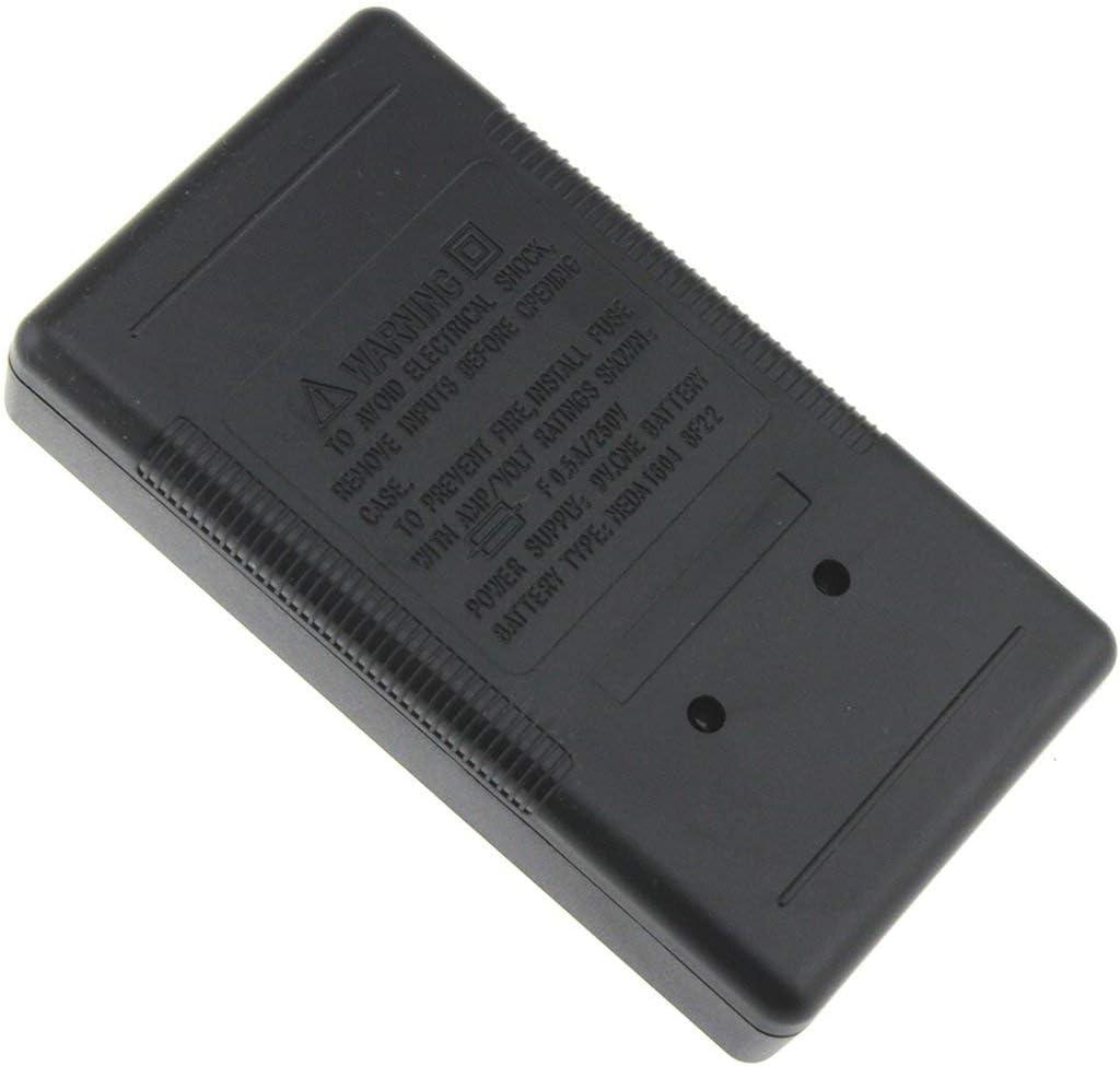 DT-832 Mini Multim/ètre Num/érique de Poche 1999 Compte AC//DC Volt Amp/ère Ohm Diode Continuit/é Testeur Amp/èrem/ètre Voltm/ètre Ohmm/ètre