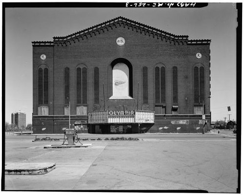 - HistoricalFindings Photo: Olympia Arena,5920 Grand River Avenue,Detroit,Wayne County,MI,Michigan,HABS,2