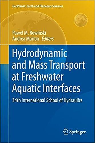 Vapaa syttyä kirjan latauksia Amazon Hydrodynamic and Mass Transport at Freshwater Aquatic Interfaces: 34th International School of Hydraulics (GeoPlanet: Earth and Planetary Sciences) in Finnish B01B5RNF30