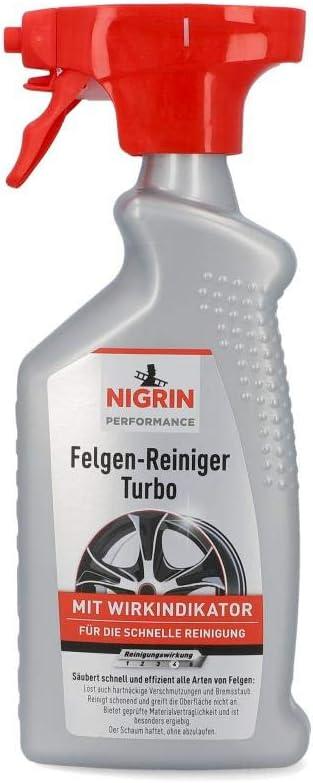 Nigrin 74242 Turbo Felgenreiniger 500 Ml Auto